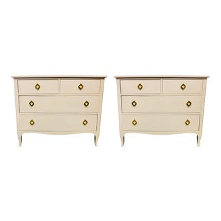 Baker Furniture Chests - A Pair For Sale
