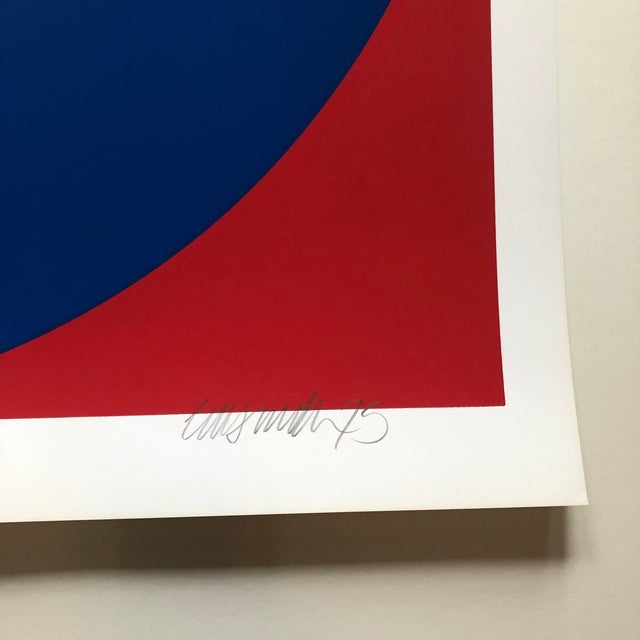 1975 Pop Art Chuck Smith Aden Navy Insignia Silkscreen For Sale - Image 4 of 6