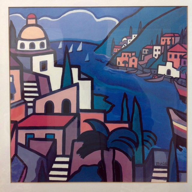 Contemporary Early Hand Signed Romero Britto Lithograph For Sale - Image 3 of 5