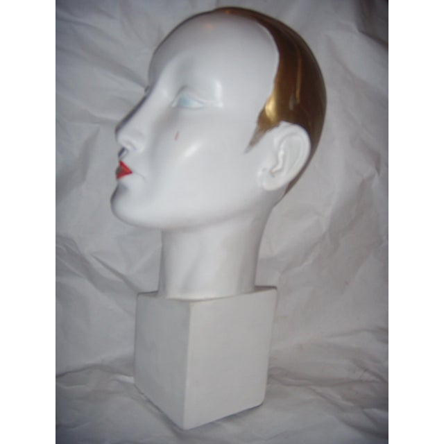 Art Deco Art Deco Style Mannequin Head For Sale - Image 3 of 9