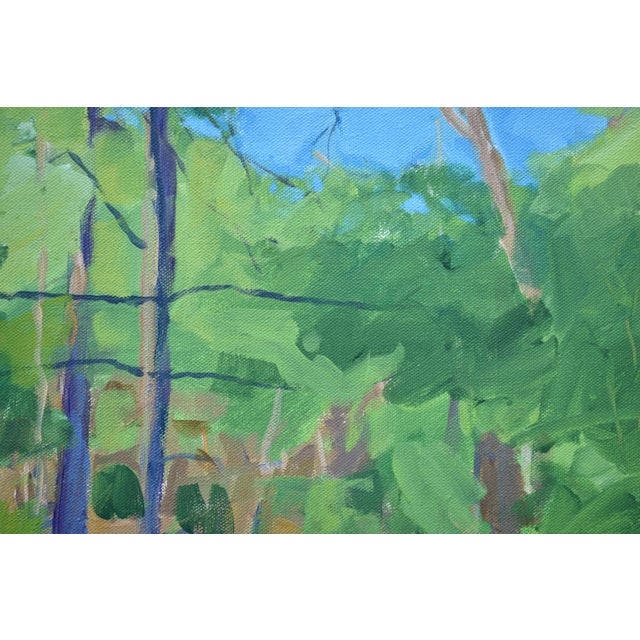 """Stephen Remick Stephen Remick """"Late Afternoon"""" Contemporary Painting For Sale - Image 4 of 11"""