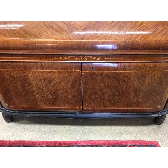 Paolo Buffa Italian Mahogany Secretary Desk For Sale - Image 12 of 13