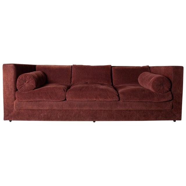 1990s Vintage Custom Made John Saladino Sofa For Sale