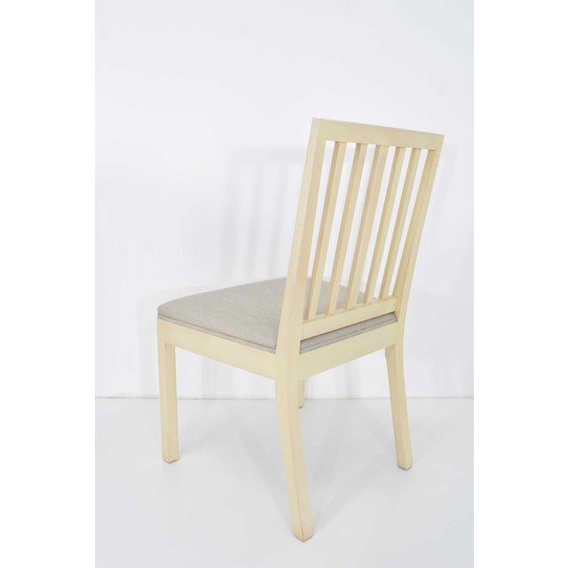 1980s Dining Chairs Attributed to Rose Tarlow for Melrose House - Set of 6 For Sale - Image 5 of 7