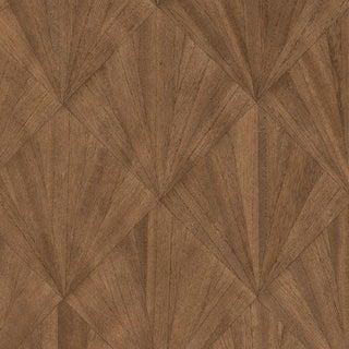 Sample, Ajiro Fanfare Wood Veneer: Chestnut - Wood Veneer Wallcovering For Sale