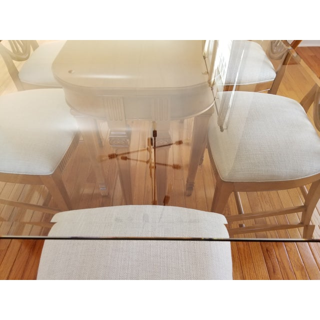1930's Myrtlewood Dining Table and Chairs (1 of 3 Listings) For Sale - Image 10 of 11