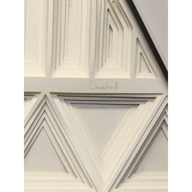 Contemporary 1970s Vintage Greg Copeland Paper Wall Art Sculptures - a Pair For Sale - Image 3 of 11