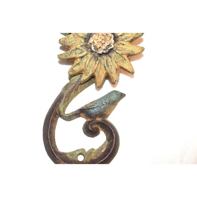 Sunflower & Bluebird Door Knocker - Image 7 of 9