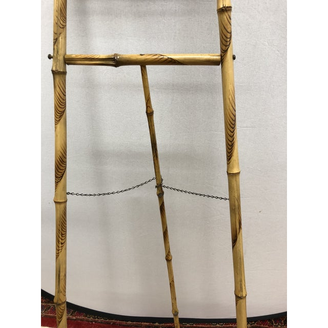 1920s Vintage Bamboo Floor Display Easel For Sale - Image 4 of 8