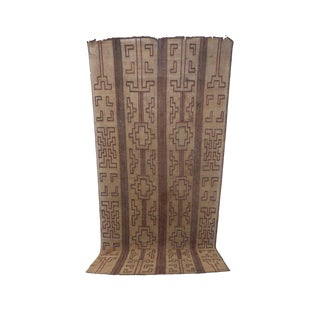 1970s Vintage Tuareg Mat - 8′6″ × 14′3″ For Sale