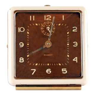 Vintage Westclox Desk Clock For Sale