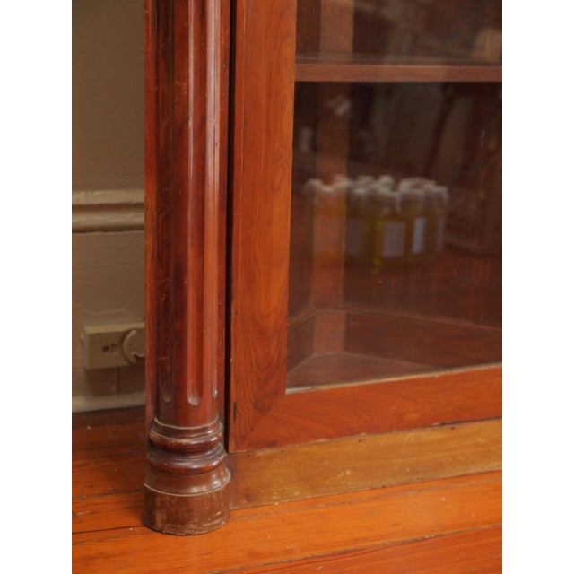 Pair of 19th Century Neoclassical Corner Cabinets For Sale In New Orleans - Image 6 of 7