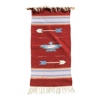 Native American Tapestry Wall Hanging For Sale