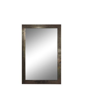 Marcus Mirror in Pyrite by Marjorie Skouras Design For Sale