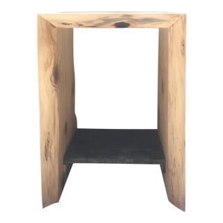 Raw Edge Sequoia Nightstand