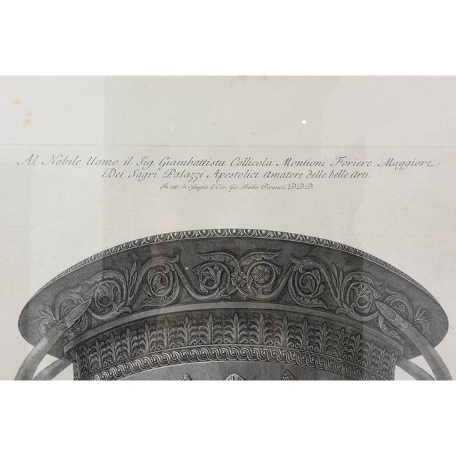 Set of Two Italian Copper-Plate Engravings by Giovanni Battista Piranesi For Sale - Image 4 of 10