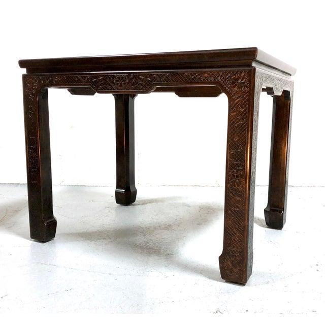 Mario Buatta for John Widdicomb Chinoiserie Coffee Table For Sale - Image 13 of 13