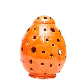 Atlas Chic Orange Egg Lamp For Sale