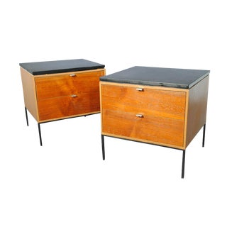 George Nelson for Herman Miller Nightstands - A Pair
