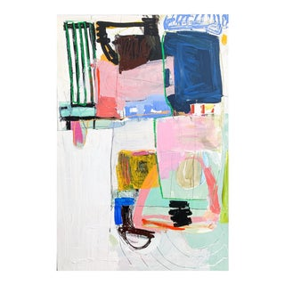 Contemporary Painting, Playground Rules by Allison James For Sale