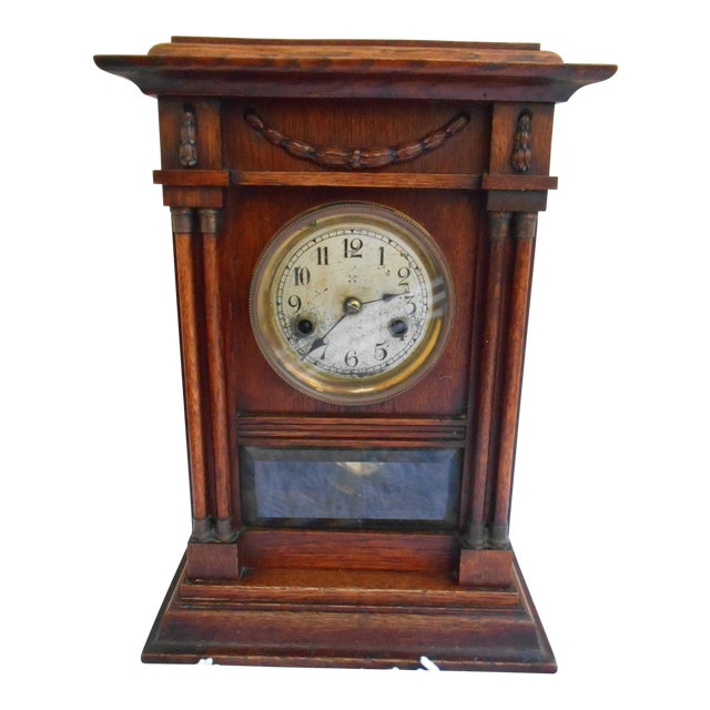 Vintage Mantle Clock For Sale