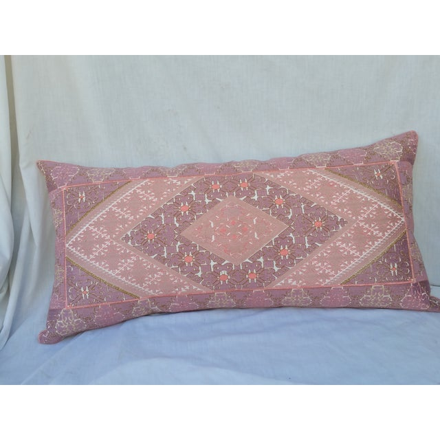Embroidered Opulent Lumbar Pillow - Image 2 of 5
