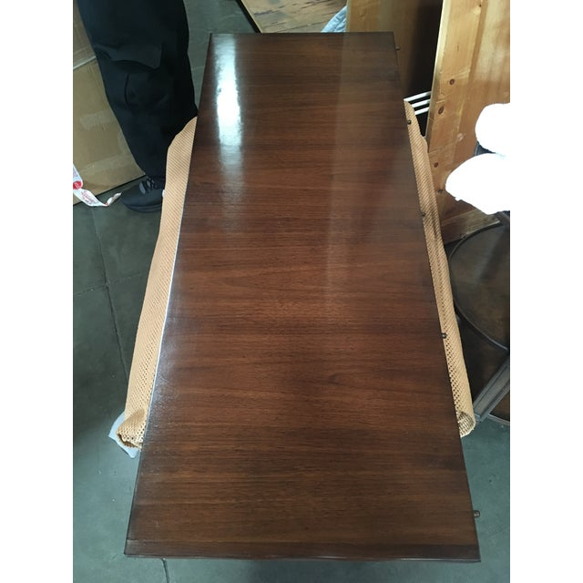 Carved Feet Oval Dining Table - Image 5 of 6