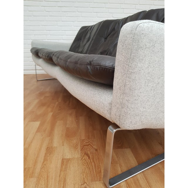 Metal 1970s Vintage Danish Designed Midtcentury Sofa For Sale - Image 7 of 13