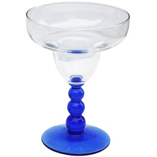 Blue Mid-Century Cocktail Glasses, S/2 Preview