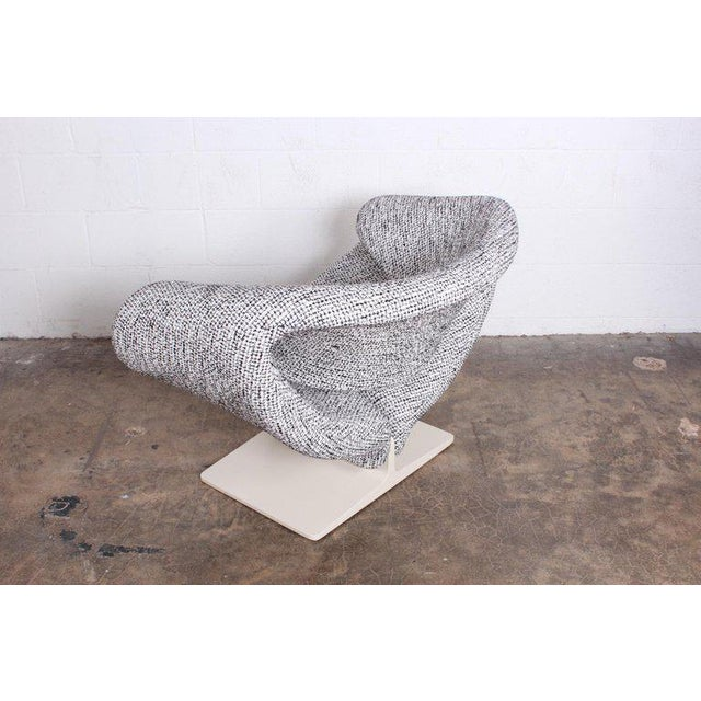 Gray Pierre Paulin for Artifort Ribbon Chair For Sale - Image 8 of 11