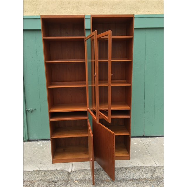 Danish Modern Bookshelves - A Pair - Image 5 of 11