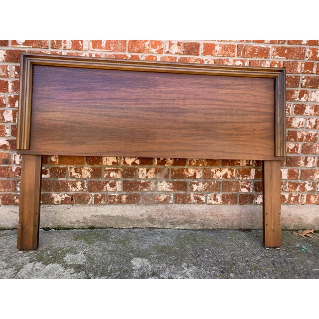 1960s 1960s Mid-Century Modern Lane Furniture Queen Headboard For Sale - Image 5 of 5