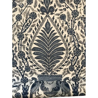 """French Anna Thibaut """"Palampore"""" Cotton Fabric - 4 Continuous Yards For Sale"""