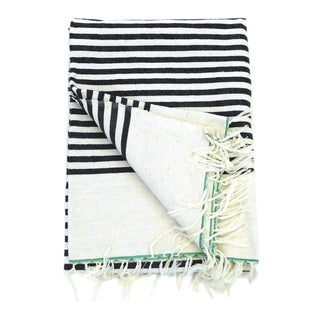 Moroccan Cotton Throw Blanket For Sale