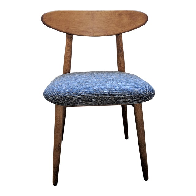 1960s Vintage Baumritter Style Side Chair For Sale