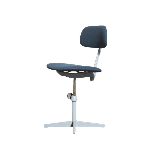 Friso Kramer Newly Upholstered Drafting Chair - Image 1 of 11