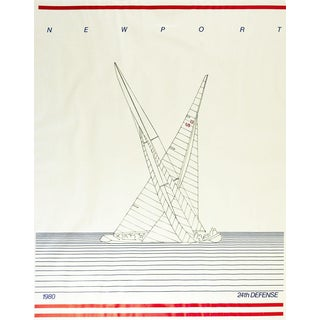 1980 Newport America's Cup Poster For Sale