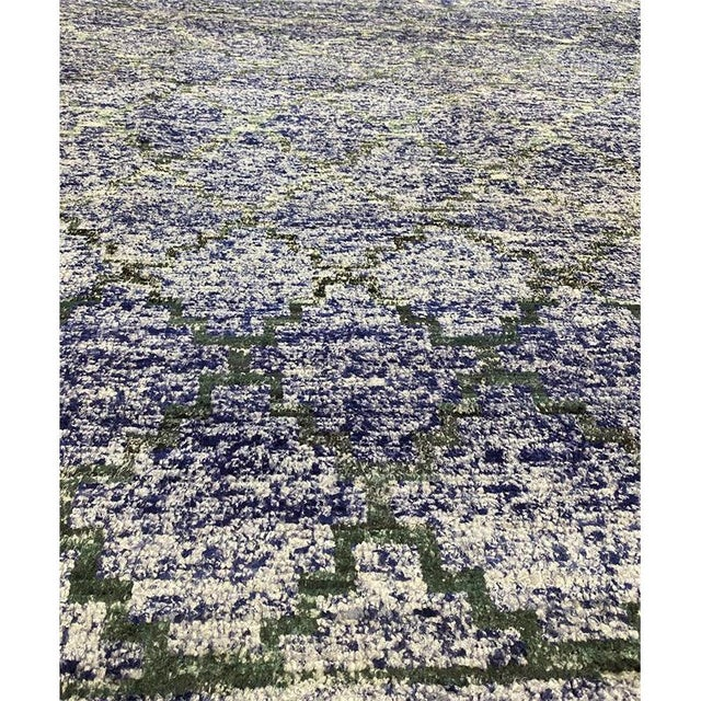 """1990s Transitional Style Area Rug 8'2""""×10'4"""" For Sale - Image 5 of 10"""