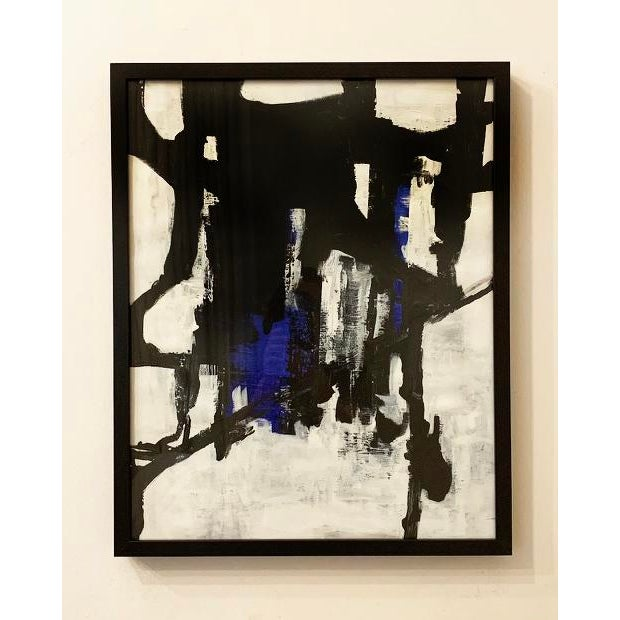 Abstract Original Abstract Framed Painting For Sale - Image 3 of 3