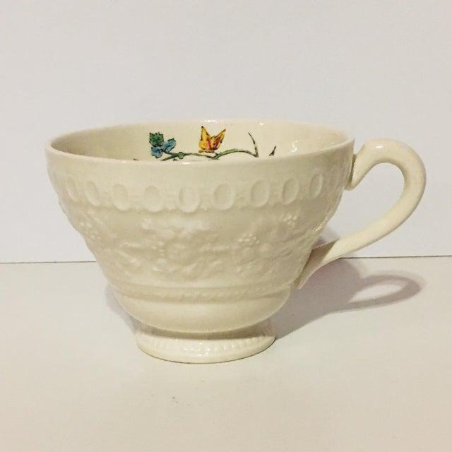1940s 1940s Vintage Wedgwood Montreal Bone China Tea Set of 12 For Sale - Image 5 of 13