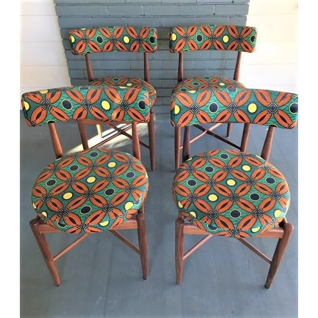 Vintage Mid Century G Plan Dining Chairs- Set of 4 For Sale - Image 10 of 10