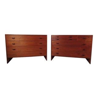 Scandinavian Modern Dressers - a Pair For Sale