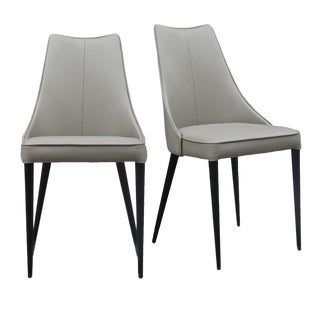 Auwell Chair in Taupe - a Pair For Sale