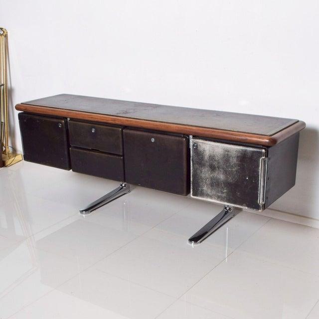 Mid-Century Modern Warren Platner Huge Executive Sideboard Credenza, Knoll International 1960s For Sale - Image 3 of 11