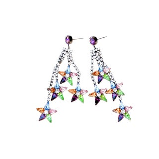Pastel Cassiopeia Earrings For Sale