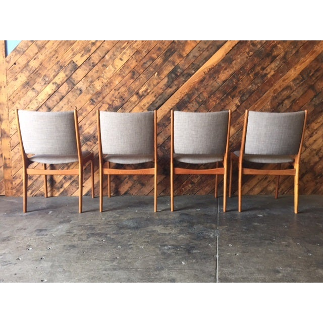 Danish Modern High-Back Chairs - Set of 8 - Image 7 of 9