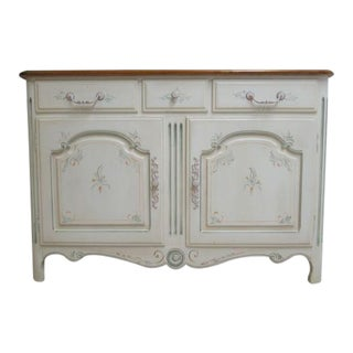 Ethan Allen Country French Painted Server