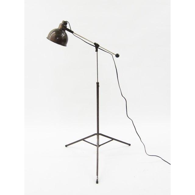 1960s Industrial floor lamp For Sale - Image 4 of 10