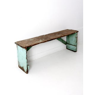 Antique Wooden Bench Preview