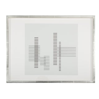 Josef Albers From Formulation: Articulation Print For Sale